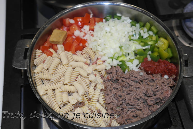 One pot pasta bolognaise