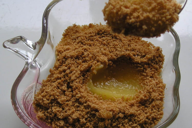 Compote ch'ti (pommes-spéculoos)