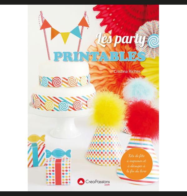 """Livre """"Les party printables"""" de Cristina Riches"""