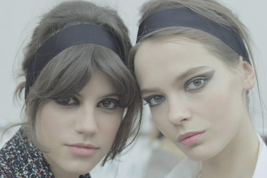 Chanel : le maquillage dramatique du défilé prêt-à-porter automne-hiver 2015-2016