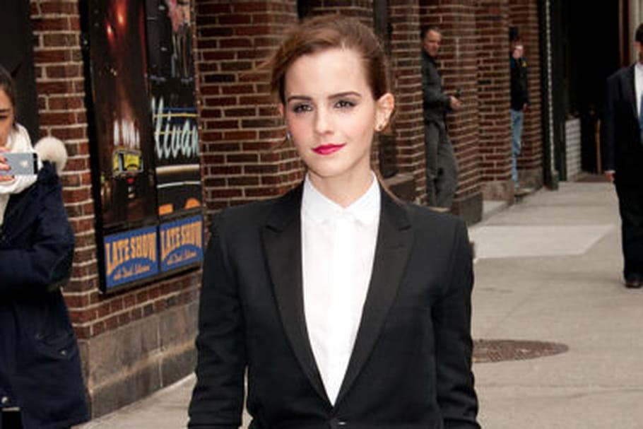 Le look people du jour: Emma Watson, masculin-féminin