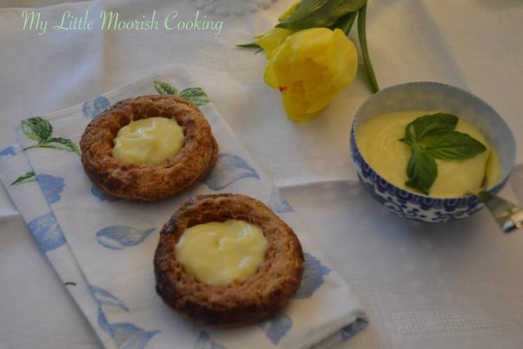 Lemon curd au basilic sans lait
