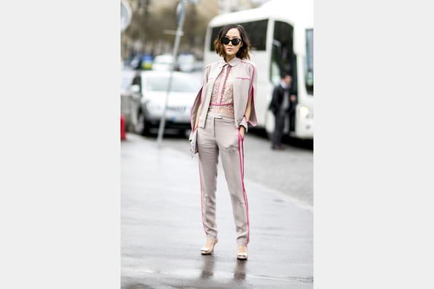 Street style à Paris : le tailoring moderne