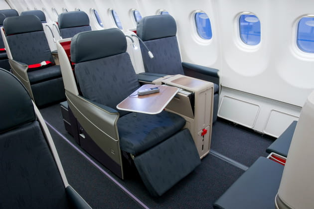 Business Class: Une bulle intime