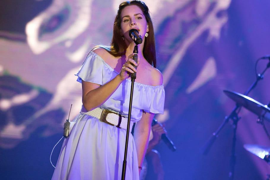 Lana Del Rey est montée sur scène