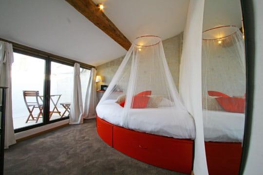 Un lit rond pour Vénus