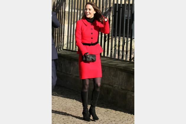 Kate Middleton le 25février 2011