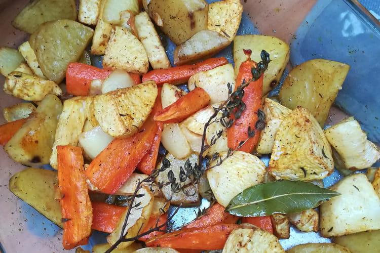 Légumes d'hiver confits