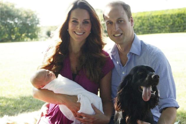 Kate, William, George et Lupo