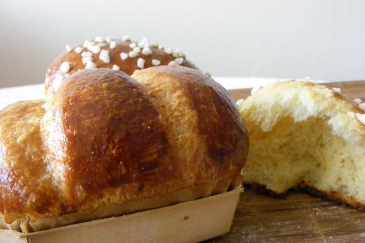 Vraie brioche du boulanger