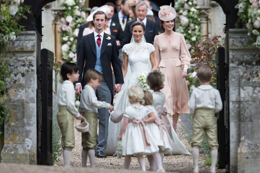 Pippa Middletons'est mariée!