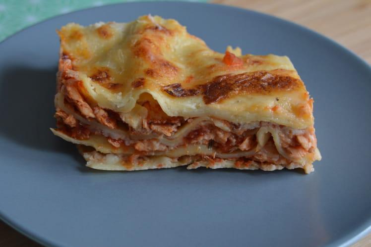 Lasagnes au saumon facile à préparer