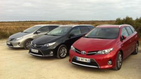 Essai Toyota Auris Touring Sports Hybrid & Diesel
