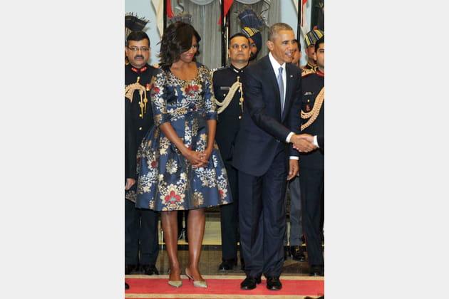 Michelle Obama le 25janvier 2015