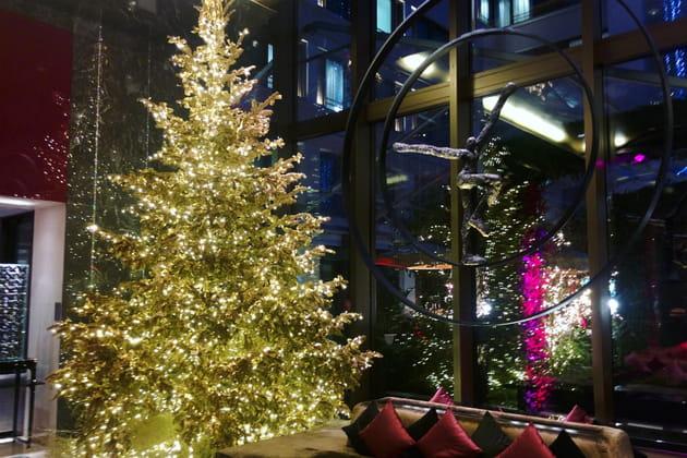Le sapin de Noël du Mandarin Oriental
