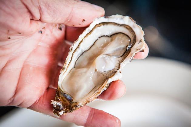 Étape 5: vérifier la fraîcheur de l'huître