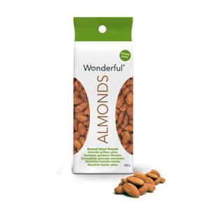 les amandes grillées salées de wonderful almonds