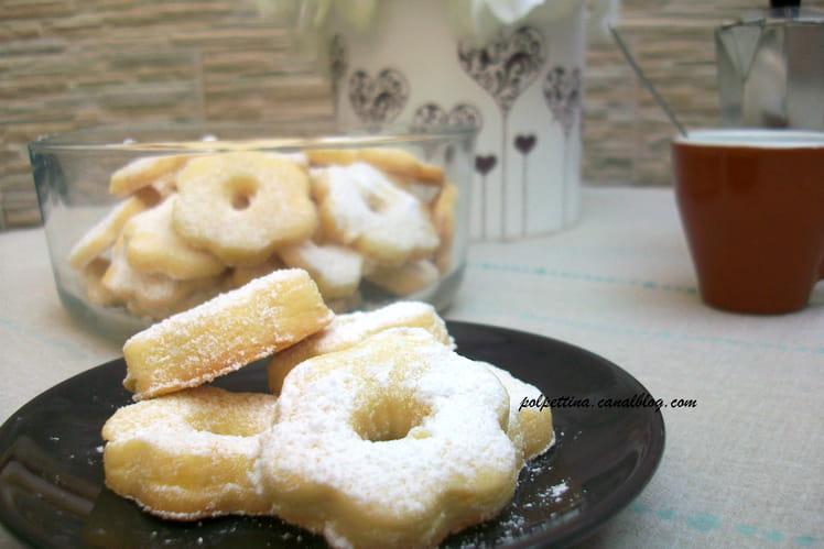 Canestrelli : biscuits typiques de la Ligurie