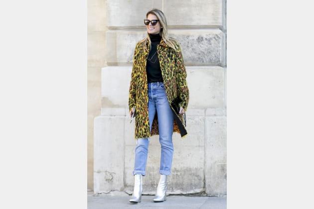 Street style à Paris : le col roulé