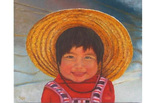 Enfant chilienne