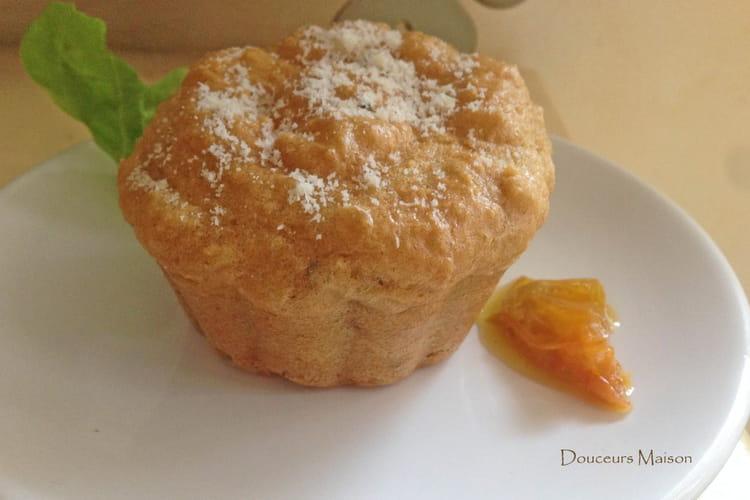 Petits Cakes Parmesan Amande sans Gluten
