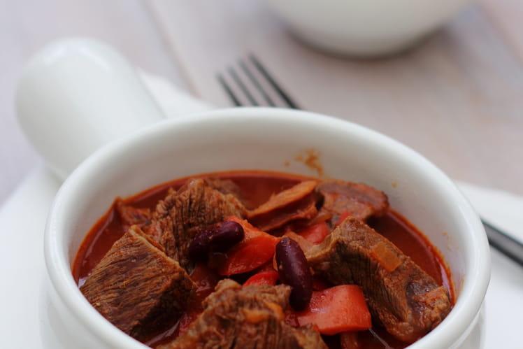 Mijoté de boeuf façon chili con carne