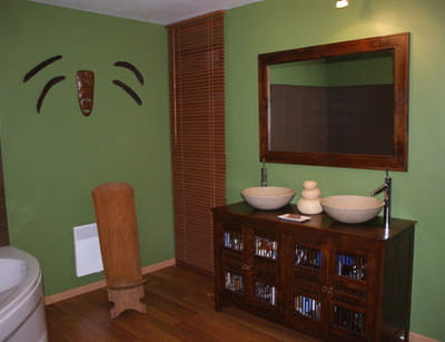 la salle de bains de charlene