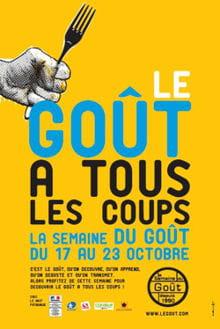 affiche bd semaine du goã»t 2011 jaune 220