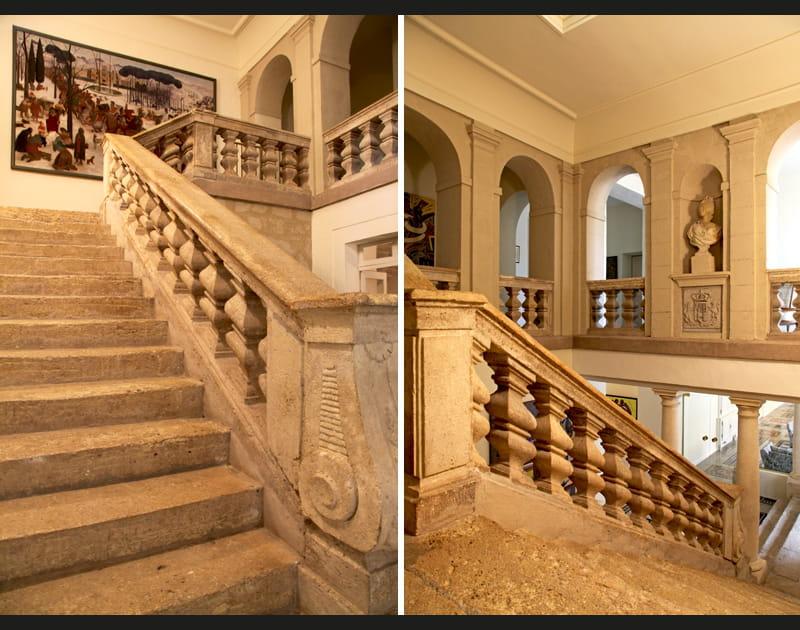 Escaliers monumentaux