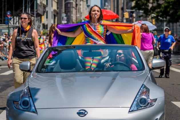 Jazz Jennings à la Gay Pride de New York
