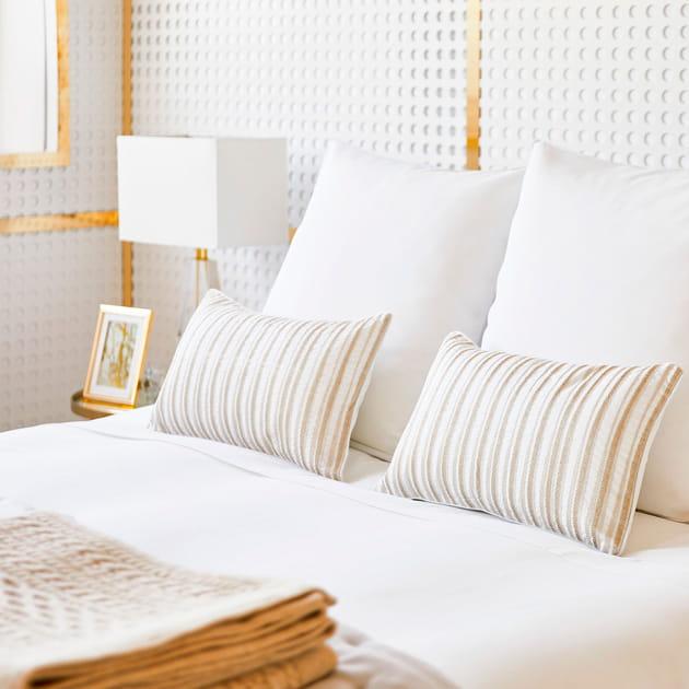 coussins de zara home. Black Bedroom Furniture Sets. Home Design Ideas