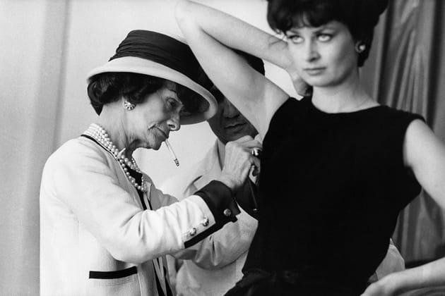 Le studio Chanel à l'époque de Gabrielle Chanel