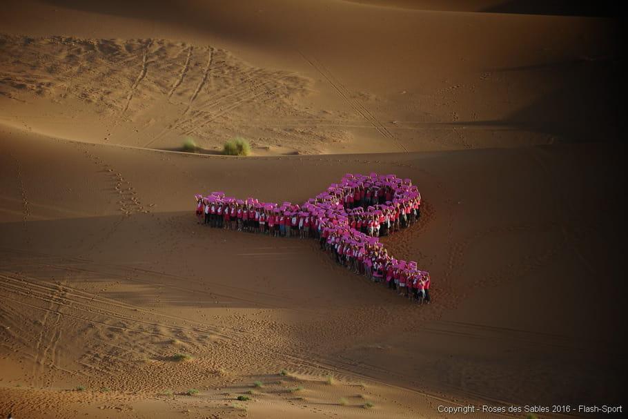 Trophée Roses des Sables: l'emblématique ruban rose dans le désert