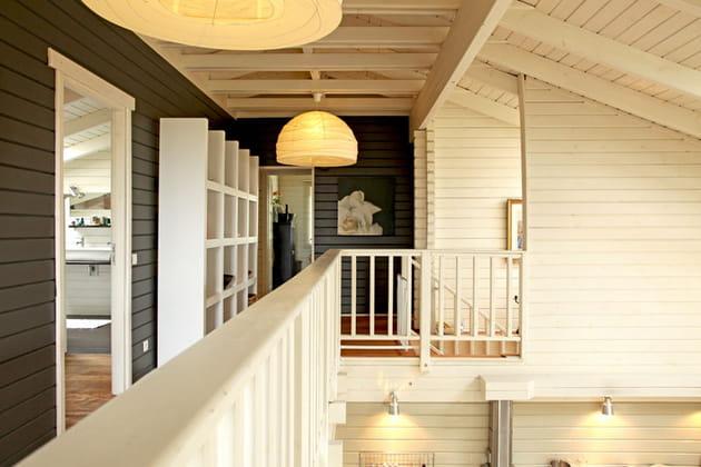 Un étage en balcon