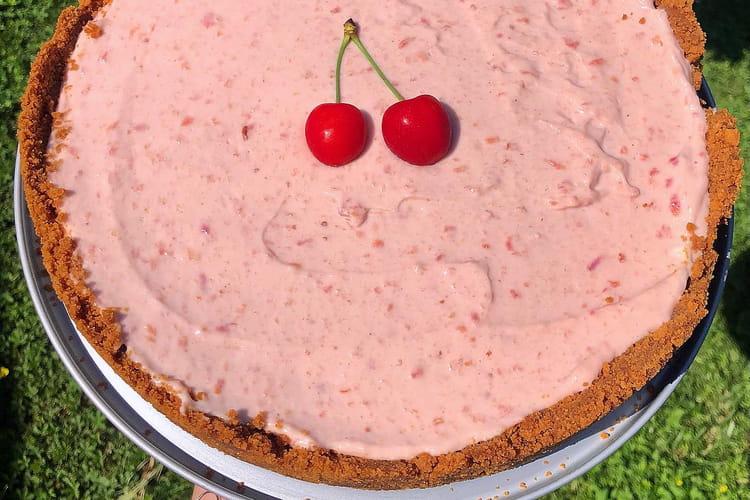 Cheesecake gourmand aux cerises