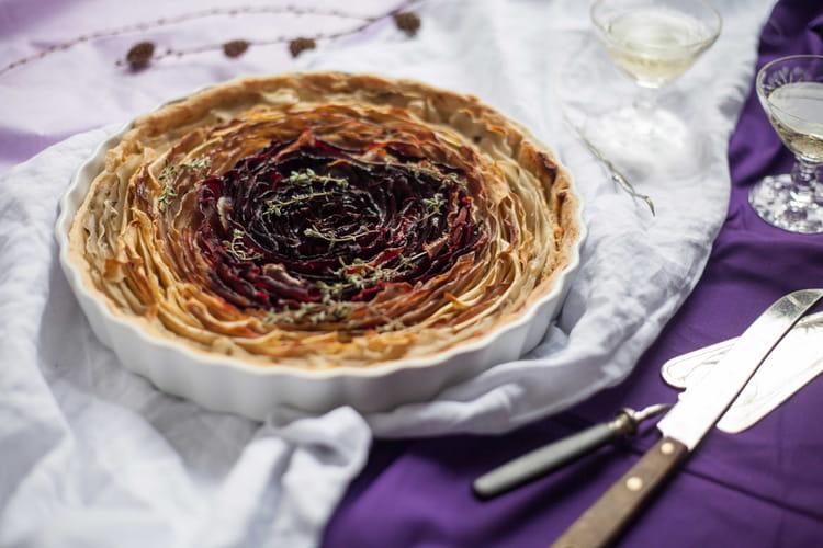 Tartelettes fleur de légumes à l'huile d'olive et Balsamic Olive