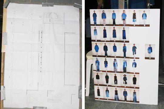 Fashion week prêt-à-porter automne-hiver 2011 : les coulisses du défilé Aganovich 5