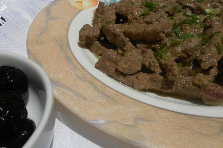 Foie épicé à la grecque
