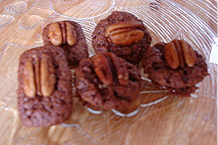 Brownies chocolat-noisettes-amandes-noix de pécan
