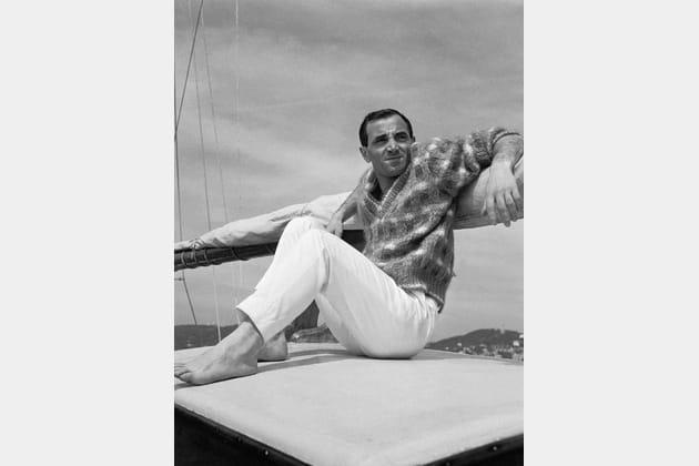 Charles Aznavour en vacances