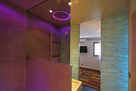 Salle de bains miroir