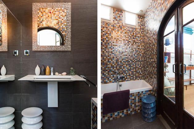 Une salle de bains à l'esprit hammam