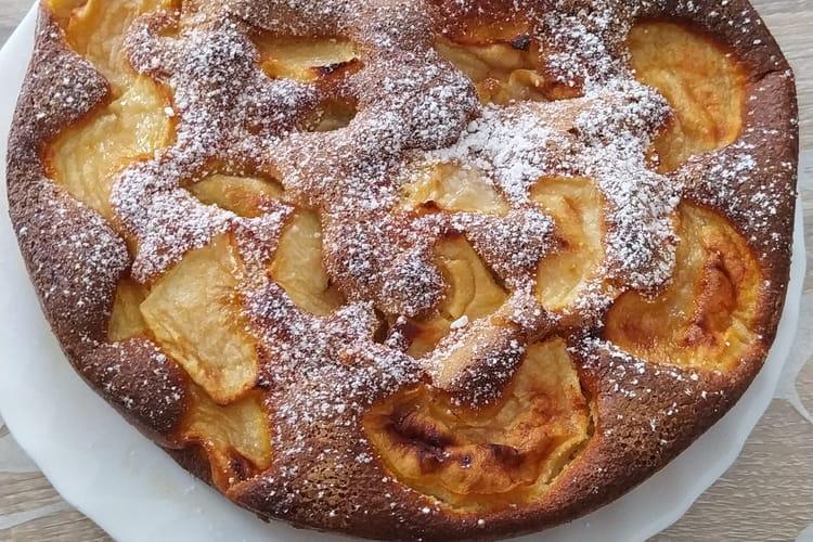Délice aux pommes light pour régime très peu calorique