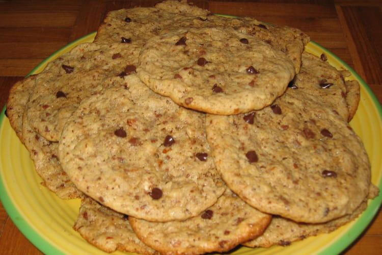 Cookies moelleux noisettes-chocolat