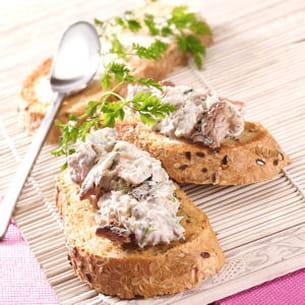 rillettes de sardines basilic et citron