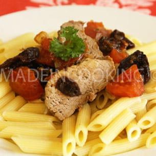 filet mignon pruneaux provençal
