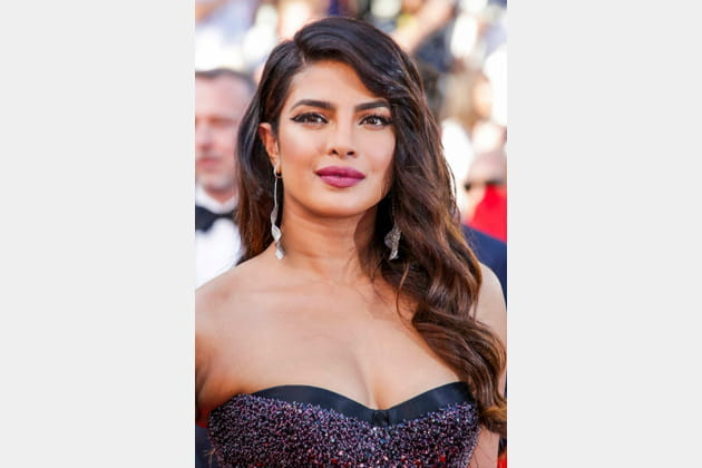 Le cat eye arty de Priyanka Chopra