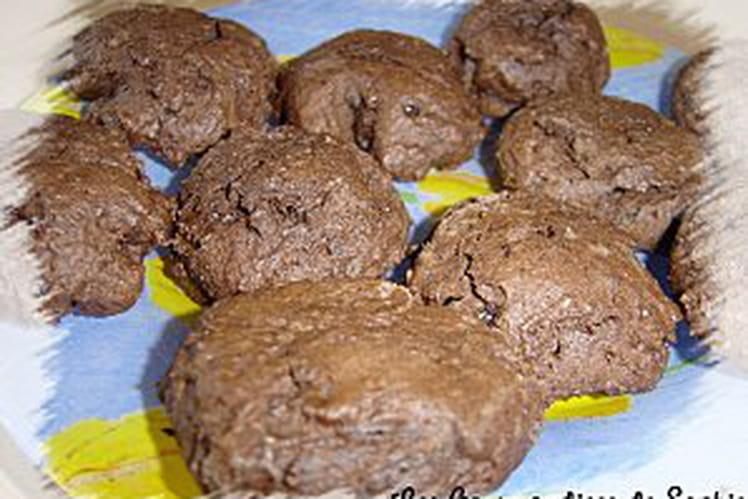 Fudgy cookies, mi-cookies mi-brownies