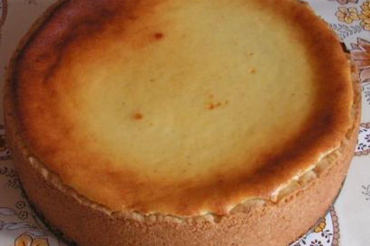 Tarte au fromage blanc et pâte sablée maison