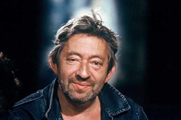 Serge Gainsbourg, tout sourire